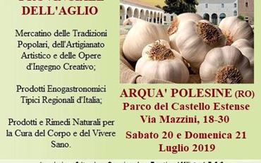 Mercatino Della Festa Provinciale Dell'aglio