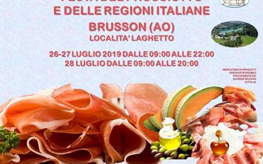 Festa Del Prosciutto E Delle Regioni Italiane A Brusson